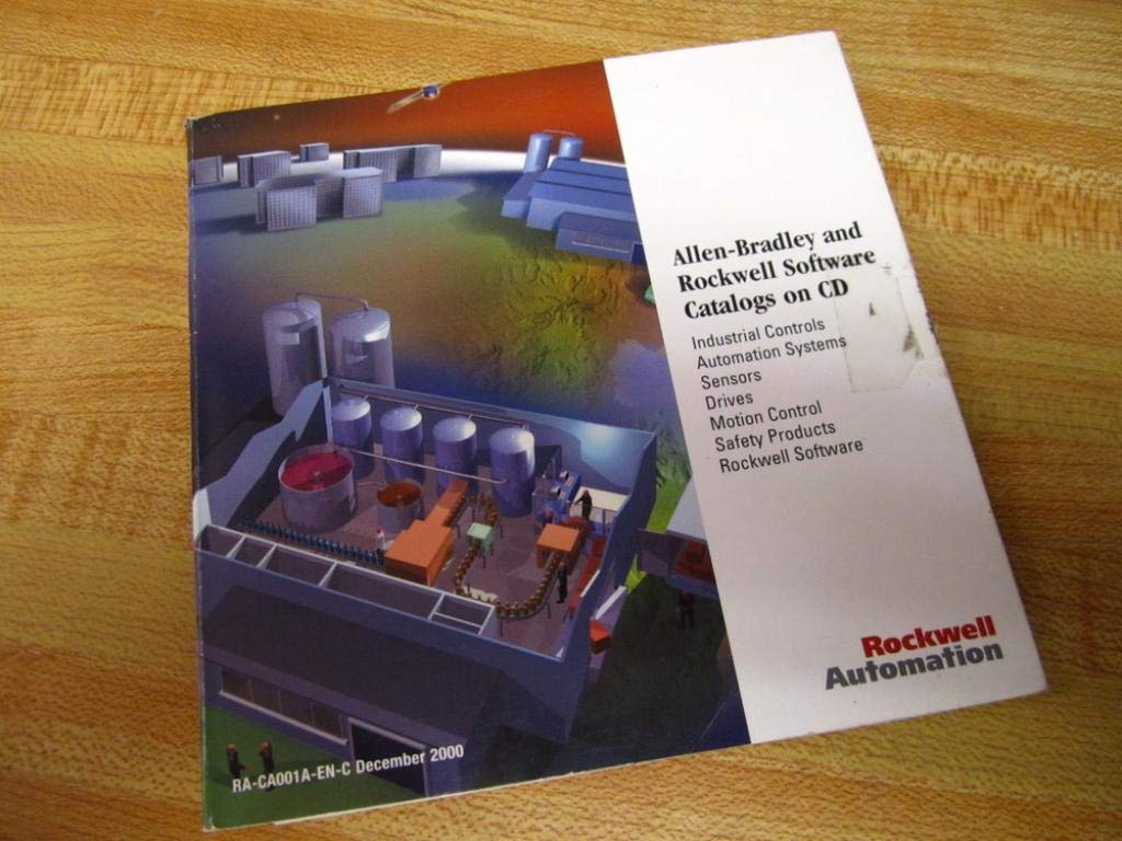 Amazon com: Allen Bradley RA-CA001A-EN-C Software Catalog on CD