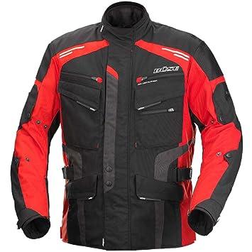 66c6f5fd69 Büse Torino Evo Herren-Motorradjacke in Schwarz/Rot: Amazon.de: Auto