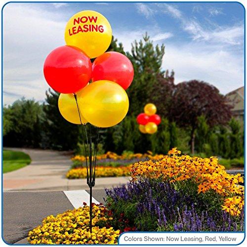Weatherproof Reusable Balloon Cluster Pole Kit - Helium Free by DuraBalloon
