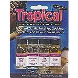 Lorann Oils 4 Pak Tropical Mix Flavoring