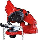Einhell 4499920 GC-CS 85 E, Affilacatene per Motoseghe, 5500Giri/Min, 85 W, 230 V, Rosso
