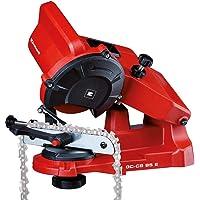 Einhell GC-CS 85 E - Afilador para cadenas, 85 W, 5500 min-1, Rojo