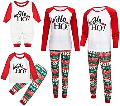 Daytwork Ropa Navidad Mujer Adulto - Pijama de Maridaje Familiar ...