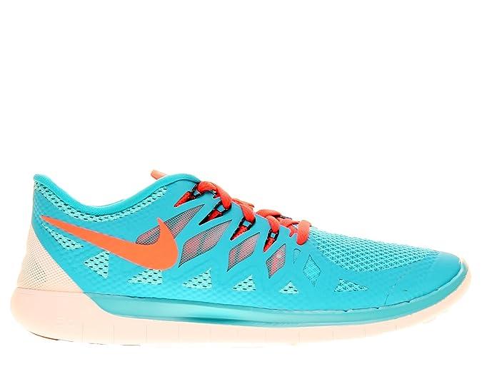 Nike Mens Free 5.0+ Running Shoes Blue LagoonBright