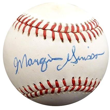 241b8def50f Marquis Grissom Signed Official NL Baseball Atlanta Braves