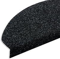 Etm Set De 15 Marchettes D Escalier Surface Confortable Et Antiderapante Taille 23x65cm Couleurs Diverses Anthracite