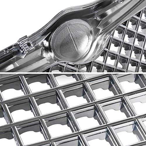 Spec-D Tuning for Chrysler 300 300C Front Chrome Mesh Honeycomb Grill Grille