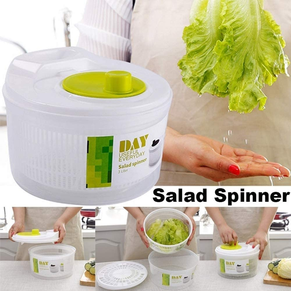 Easy to Spin and Storage Manual Vegetable Dryer and Cleaning ...
