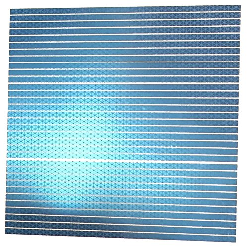 customTAYLOR33 High Intensity Reflective Tape Straight Strips (Many Colors) (Special Edition Baby Blue)