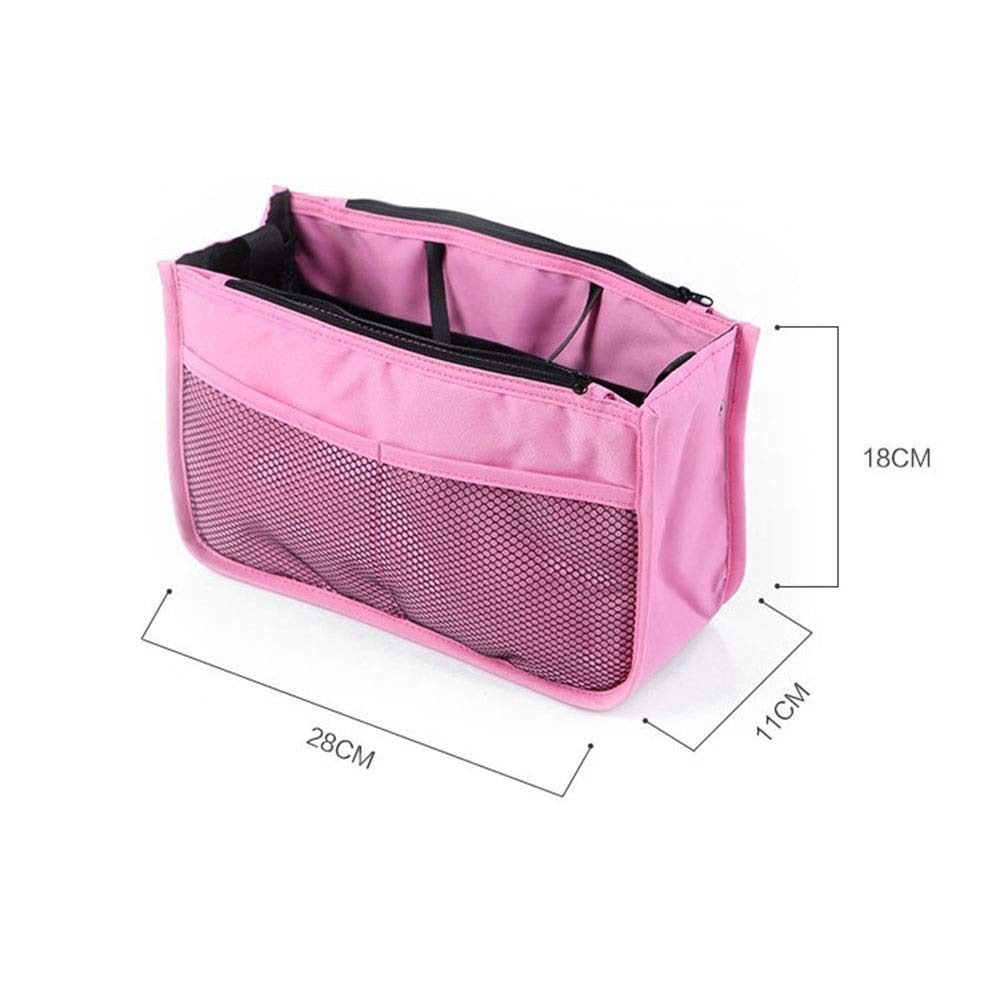 LORGDFDF Practical Multi-Function Baby Stroller Organizer Bag Cosmetic Bag for Women Lots of Space Light and Durable Pink is A (Color : Pink, Size : Free Size) by LORGDFDF (Image #4)
