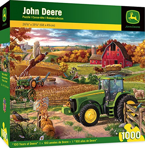 8320 Series - MasterPieces John Deere 100 Years of Deere - Model 8320 Series Tractor 1000 Piece Jigsaw Puzzle by Charles Freitag