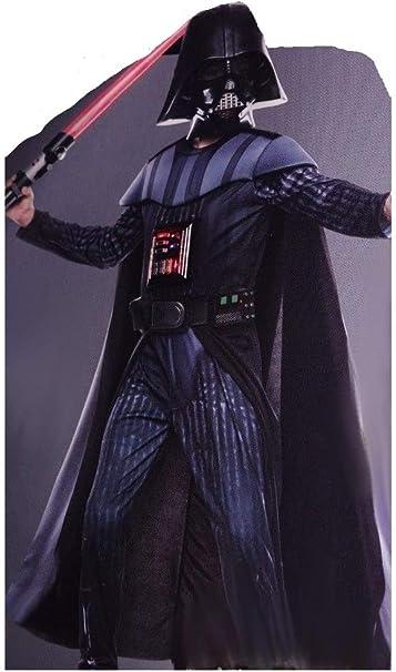 Disfraz de Darth Vader de Star Wars Lights Up, para niños, Negro ...