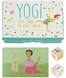 Amazon.com: Roylco Body Poetry Illustrated Yoga Cards with ...