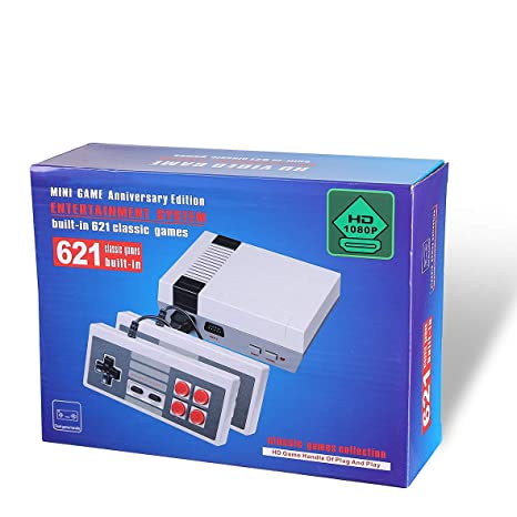 Retro Classic Family Game Mini Consola Hdmi Con 621 Videojuego De