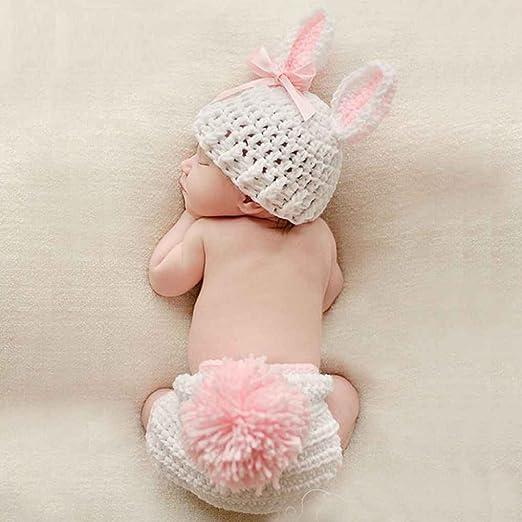 Forbestest Ropa de bebé Lindo de la fotografía del Ganchillo ...