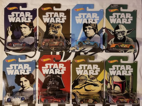 Hot Wheels 2018 Walmart Exclusive Star Wars Complete Set of -