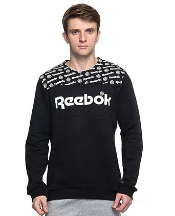 10db57685a0 Reebok Mens Classics Graphic Crewneck Sweatshirt (XLarge)  Amazon.ca ...