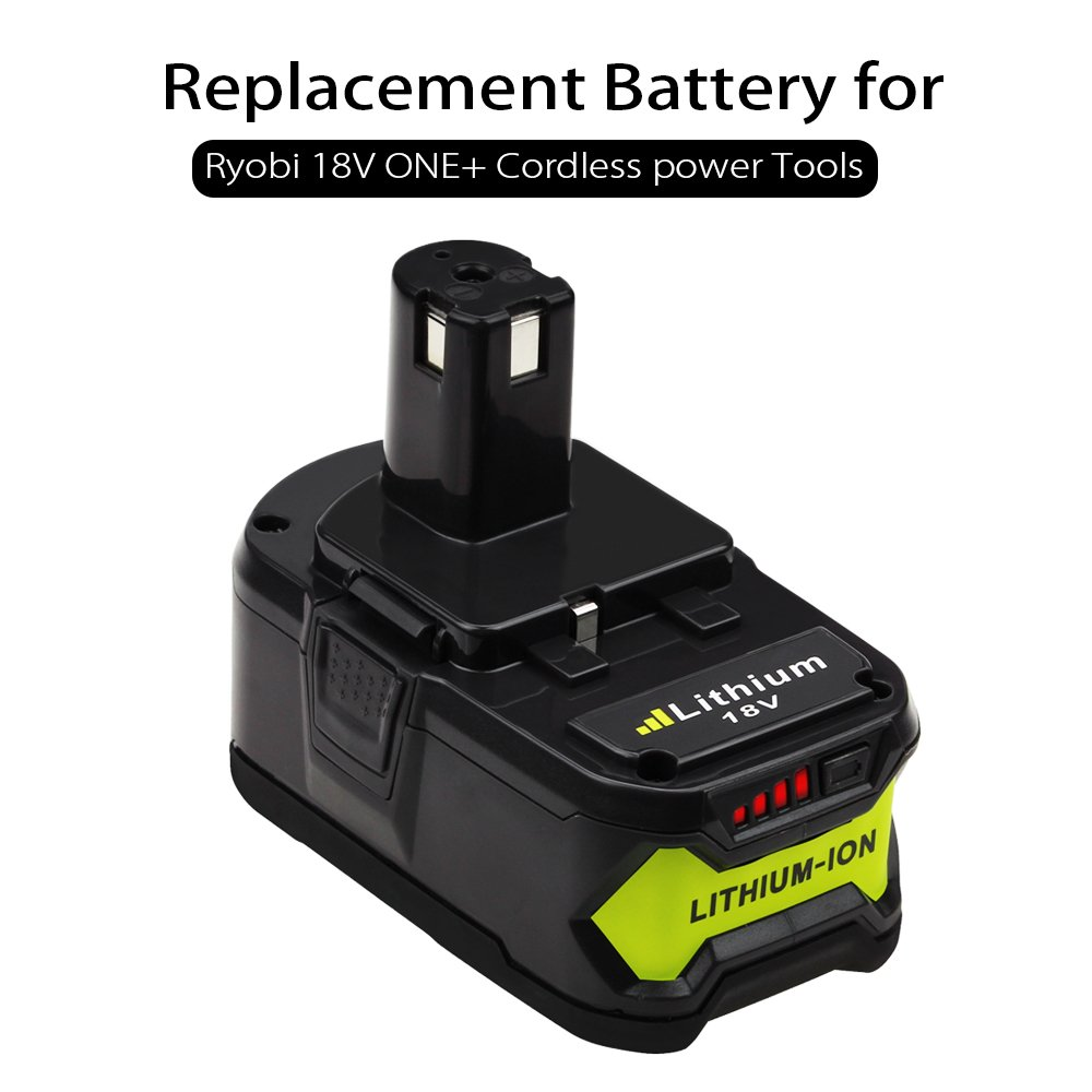 2 Pack P108 4.0Ah Replace for Ryobi 18V Battery ONE+ P102 P103 P104 P105 P107 P109 P122 Cordless Power Tools by Boetpcr (Image #3)