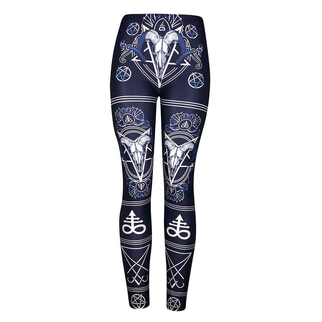 Fun Fashion Graphic Printed Cute Patterns kemilove Trendy Design Workout Leggings