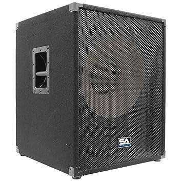 Amazon.com: Seismic Audio - Enforcer II PW - Powered PA 18 ...