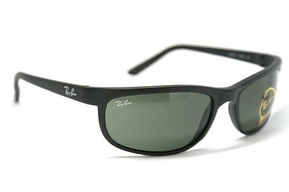 5c147086fb425 Ray-Ban Matte Black Predator 2 RB 2027 W1847 62mm + Free SD Glasses +  Cleaning Kit  Amazon.co.uk  Clothing