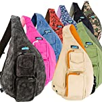 Meru Sling Bag - Sling Backpack for Women & Men – Crossbody Bags for Women & Men 8 MERU PREMIUM QUALITY crossbody backpack for women and men. MERU's mini backpack for women and men is a uniquely designed small backpack made from breathable ALL NATURAL COTTON CANVAS for all your edc backpack needs. Our superior style, functional design, comfort and quality are second to none MERU CROSSBODY BAGS For Women and Men feature a large inner compartment with zippered storage pocket, insulated iPad/tablet pocket, cellphone pocket, security pocket, hidden card holder and water bottle holder. Our lightweight packable backpack / daypack comes in several styles and colors PURE COMFORT EDC BAG DESIGN – Only MERU features an exclusive 'soft carry' memory foam single strap backpack men and women will love. Just one of many reasons why our crossbody sling bag is a top rated small sling backpack on Amazon