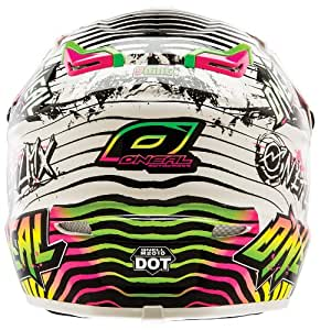O'Neal 9 Series Automatic Helmet (White/Neon, Small)