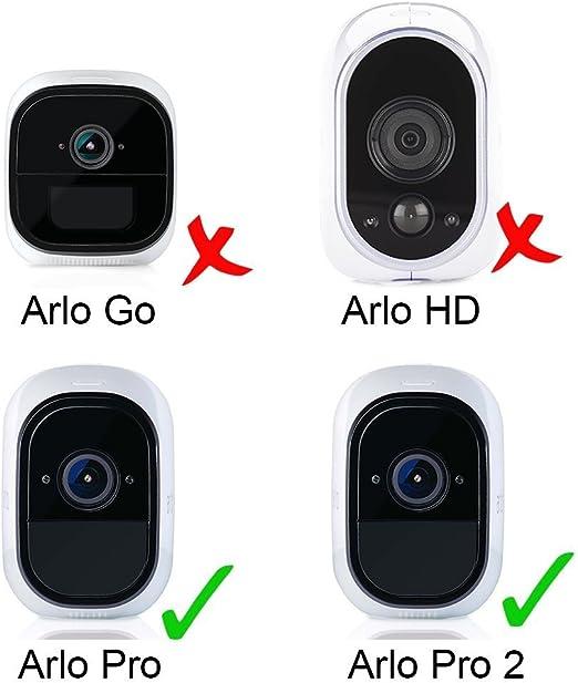 Vinyl 10 St/ück Arlo Pro//Pro 2//Ultra//Pro 3 Aieve Wandhalterungs-Clips f/ür Blink XT2 Neos Smartcam und mehr