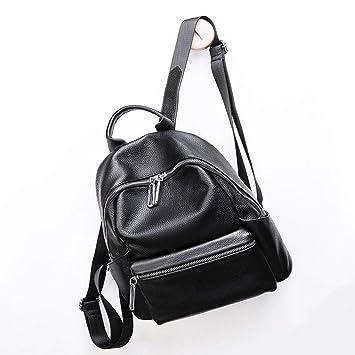 Backpack Mochila Chao de Doble Hombro para Mujer, de Piel de Vaca ...