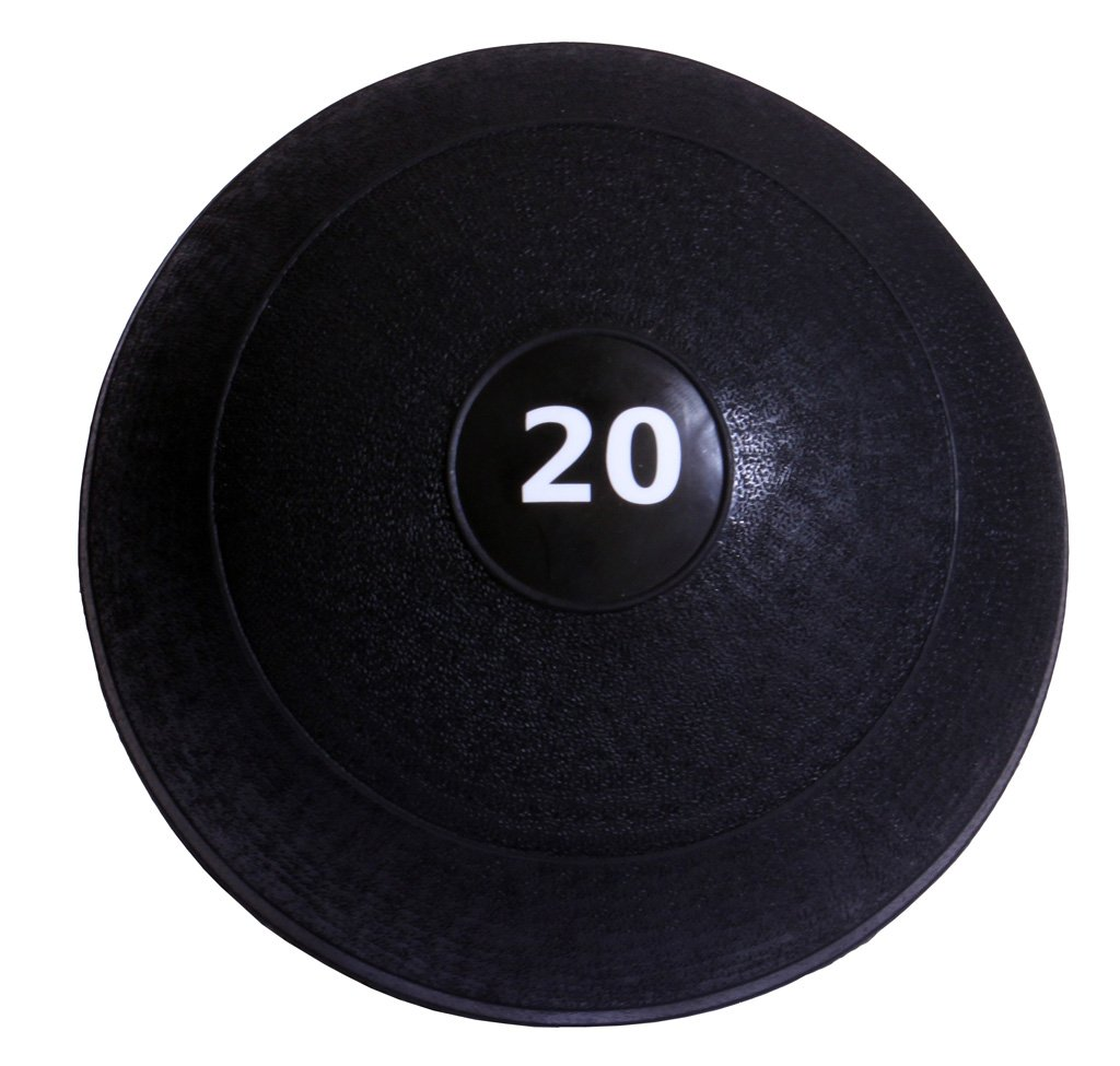 Ader Dead Weight Slam Medicine Ball Black (20 Lbs)