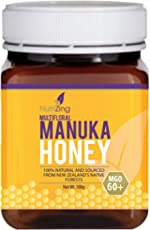 NutriZing's Manuka Honey 60+ ~ 100% Pure Essential Honey ~ Made in New Zealand ~ 500g