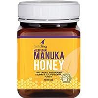 NutriZing - Miel de Manuka 60+ Miel Pura 100% Cruda Ecológica y Natural de Nueva Zelanda ~ 500g