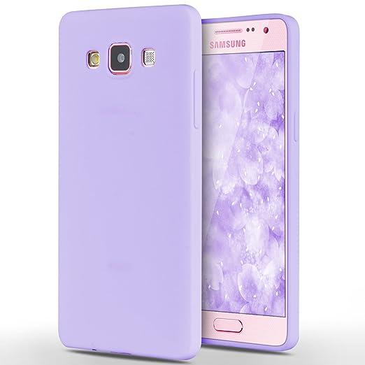 6 opinioni per Custodia Samsung Galaxy A5 / 2015, Yokata Gel Silicone TPU Morbido Cover Elegant