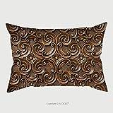 Custom Satin Pillowcase Protector Wood Thai Pattern Handmade Wood Carvings Chiangmai Thailand 67843942 Pillow Case Covers Decorative