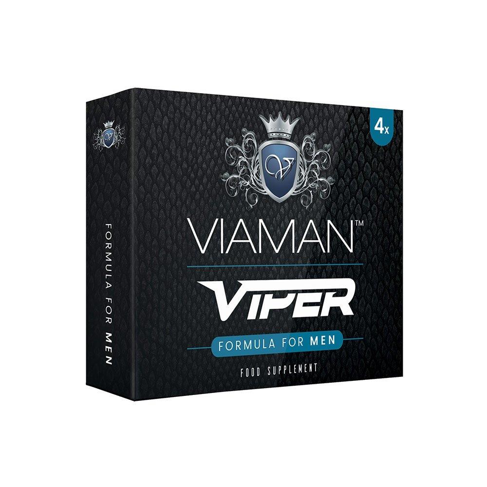 Pastillas para la Erección Viaman Viper 4 Unidades - Evita la eyaculación precoz y mejora el rendimiento sexual - Suplemento para la Impotencia Sexual y ...
