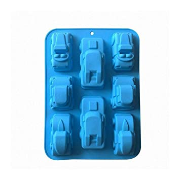 Demana molde de silicona DIY Moldes para cubitos de hielo, galletas, empanadas, Chocolate, pasteles: Amazon.es: Hogar