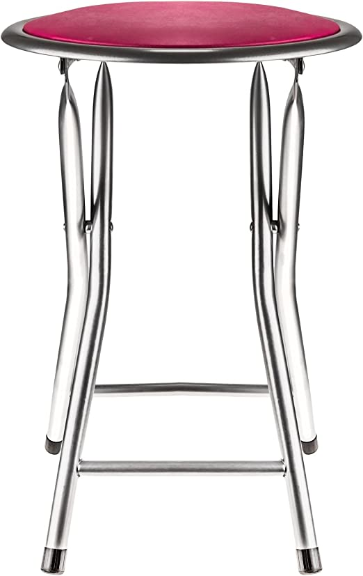 2 X Nouveau Cycle Cadre en acier rembourré Tabouret Siège Chaise