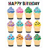 preschool birthday chart - Creative Teaching Press Wall Chart Bold & Bright Happy Birthday (2847)