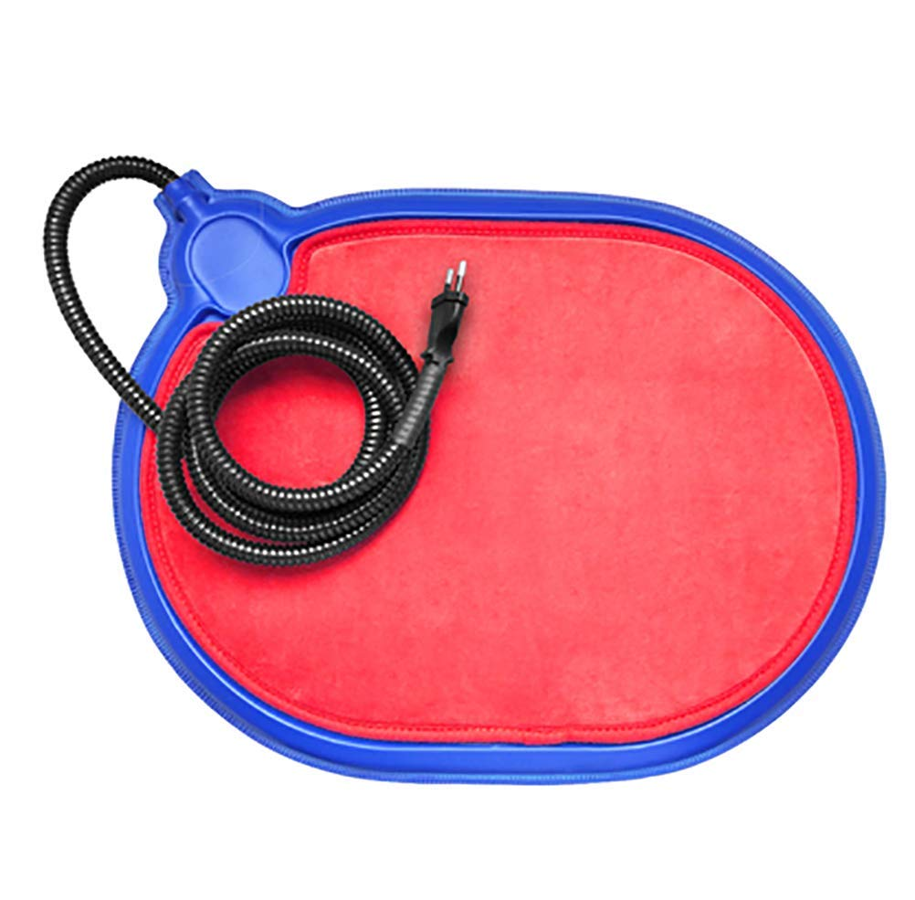 Red Outdoor Pet Pet Heating Pad For Dog Cat Warming Mat Constant Temperature With Removable Cover