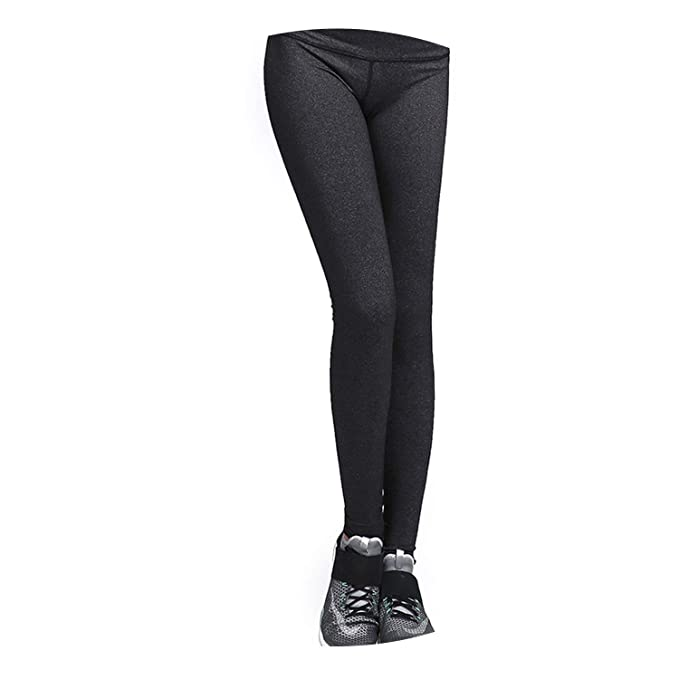 Amazon.com: Women High Waist Yoga Leggings Squat Proof Yoga ...