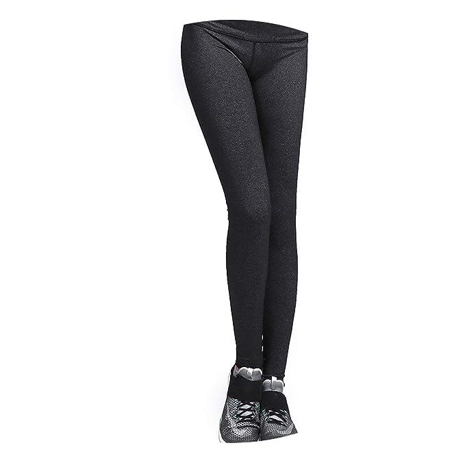 Amazon.com: Women High Waist Yoga Leggings Squat Proof Yoga ...