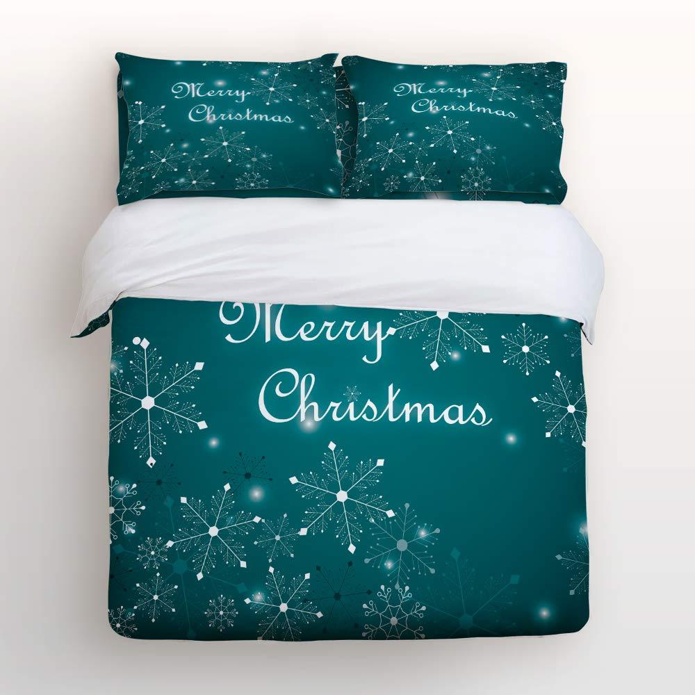 YEHO アートギャラリー 掛け布団カバー4点セット 掛け布団カバー1枚、ベッドシーツ1枚、枕カバー2枚、魔女のライディング、ほうきハロウィン柄、洗濯可能なラグジュアリー寝具セット。 フルサイズ 20181028whlyagsjtsjSCRY00642SJTBYAG B07JYTM5S1 Christmas-007yag5289 フルサイズ
