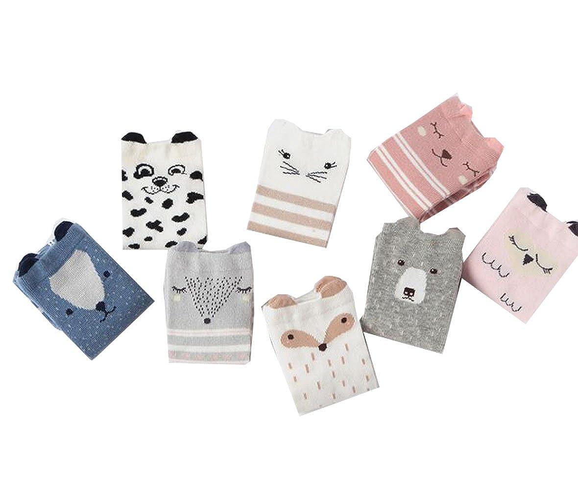 Baby Girls//Boys Cotton Cute Crew Socks