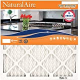 NaturalAire Odor Eliminator Air Filter with Baking Soda, MERV 8, 14 x 20 x 1-Inch, 4-Pack