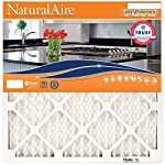 2. Flanders PrecisionAire 84857.011418 NaturalAire Odor Eliminator Air Filter with Baking Soda, MERV 8, 14 x 18 x 1-Inch, 4-Pack