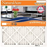 NaturalAire Odor Eliminator Air Filter with Baking Soda, MERV 8,...