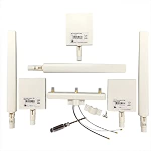 BlueProton DJI Phantom 3 Standard WiFi Signal Range Extender Antenna Kit by ARGtek