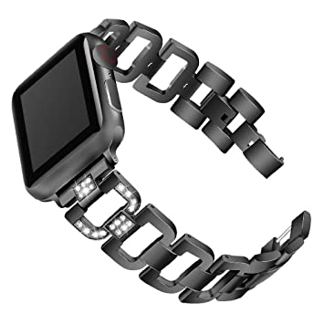 HANSHI - Correa para Apple Watch Serie 4 (38 mm, 40 mm, 42 ...