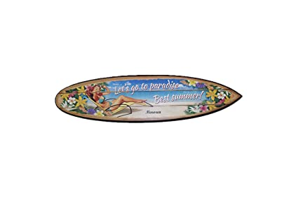 Menorca Tabla Surf Madera Chica (50cm) - Lets go to paradise - Best Summer