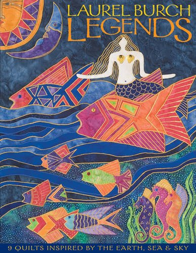 Laurel Burch Legends: 9 Quilts Inspired by the Earth, Sea & Sky - Laurel Pattern